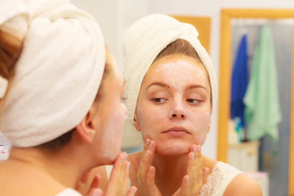 four steps to healthy, beautiful skin