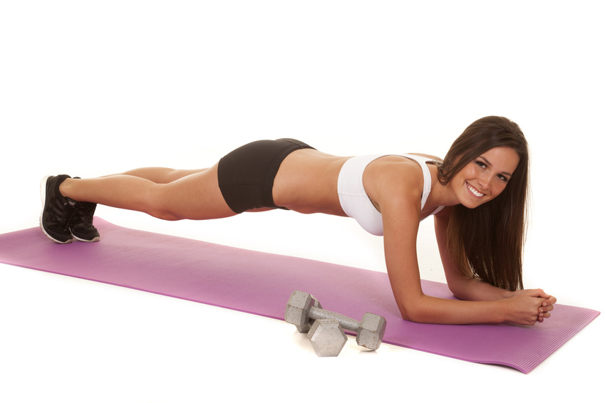Perfect plank workout